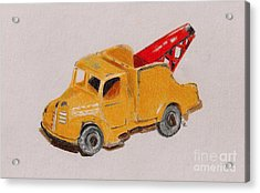 Matchbox Tow Truck Acrylic Print