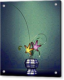 Math Flower 5 Acrylic Print