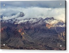 Acrylic Print featuring the photograph Mather Point View by Beverly Parks