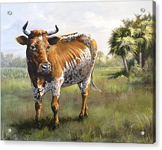 On The Florida Prairie Matilda Acrylic Print