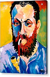 Matisse Acrylic Print by Hans Doller
