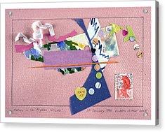 Matisse In Los Angeles Acrylic Print by Eileen Hale