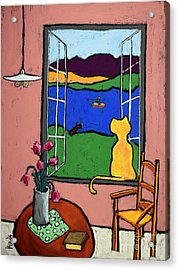 Matisse's Cat Acrylic Print