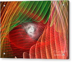 Matrix Acrylic Print by Kim Sy Ok