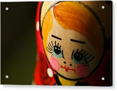 Matryoshka Doll Acrylic Print by Edward Myers