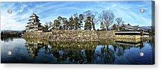 Matsumoto Castle Panorama Acrylic Print