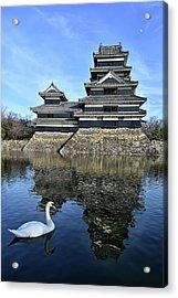 Matsumoto Swan Acrylic Print