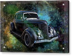 Matt Black Coupe Acrylic Print
