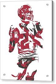 Matt Ryan Atlanta Falcons Pixel Art 7 Acrylic Print