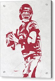 Matt Ryan Atlanta Falcons Pixel Art Acrylic Print