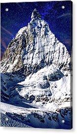Matterhorn At Twilight Acrylic Print