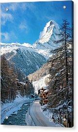 Acrylic Print featuring the photograph Matterhorn  by Brian Jannsen