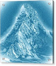 Acrylic Print featuring the mixed media Matterhorn by Frank Tschakert