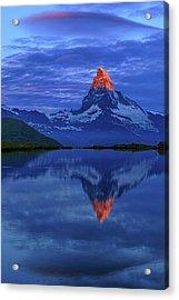 Matterhorn Sunrise Acrylic Print