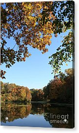 Matthiessen Lake In Autumn Acrylic Print