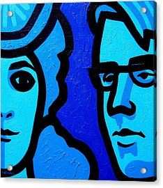 Maud Gonne And William Butler Yeats Acrylic Print by John  Nolan