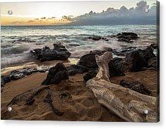 Maui Beach Sunset Acrylic Print
