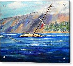 Maui Boat Acrylic Print
