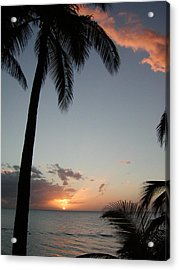 Maui Sunset Acrylic Print by Dustin K Ryan