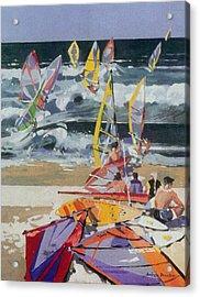 Maui Surf 2 Acrylic Print