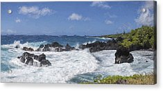 Maui Waters II Acrylic Print