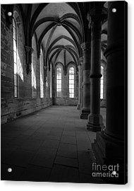 Maulbronn Monastery Refectory Acrylic Print by Rudi Prott