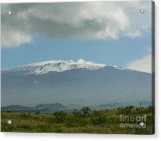 Mauna Kea Acrylic Print by Don Lindemann