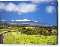 Mauna Kea Acrylic Print by Peter French - Printscapes