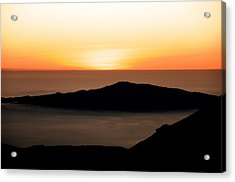 Mauna Kea Sunset Acrylic Print