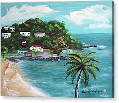 Maunabo Puerto Rico Acrylic Print by Luis F Rodriguez