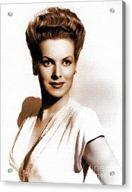 Maureen O'hara, Vintage Hollywood Legend Acrylic Print