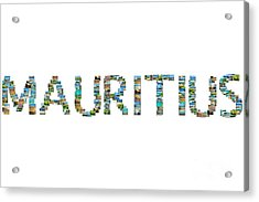 Mauritius Pictures Collage Acrylic Print