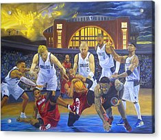 Mavericks Defeat The King And His Court Acrylic Print