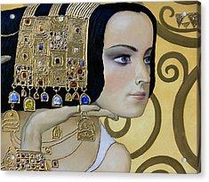 Mavlo - Klimt B Acrylic Print