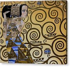 Mavlo - Klimt Acrylic Print
