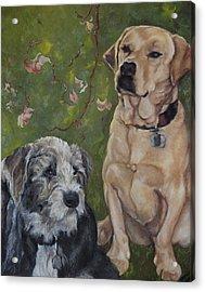 Max And Molly Acrylic Print