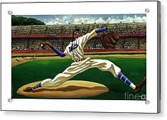 Max On The Mound Acrylic Print by Keith Shepherd