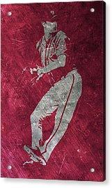 Max Scherzer Washington Nationals Art Acrylic Print by Joe Hamilton