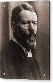 Max Weber 1864-1920, German Political Acrylic Print by Everett