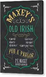 Maxey's Old Irish Pub Acrylic Print