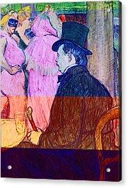 Maxime Dethomas On The Opera Ball Acrylic Print