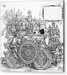 Maximilian I 1459-1519 Acrylic Print by Granger