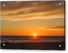 Maxine Barritt Park Sunset  -  Maxbar560 Acrylic Print by Frank J Benz
