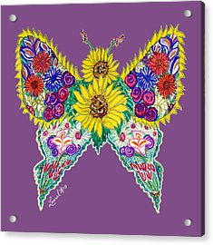 May Butterfly Acrylic Print