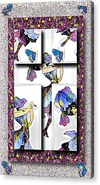 May Day Dancer Acrylic Print