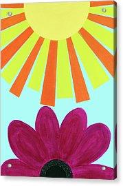 May Flowers Acrylic Print