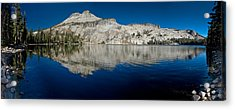 May Lake Panorama Acrylic Print