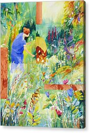 May Meadow Acrylic Print