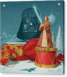 May The Holidays Be With You Acrylic Print