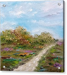 May The Road Rise Up To Meet You Acrylic Print